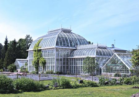 HELSINKI, FINLAND - JULY 6, 2015: Botanical Garden of the University of Helsinki