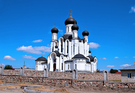 reigning: The temple in honor Reigning Mother of God in Ivantsevichi, Belarus