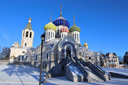 transfiguration: Church of the Savior Transfiguration Metochion Patriarch of Moscow and All Russia in Moscow