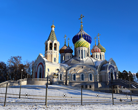 farmstead: Church of the Savior Transfiguration Metochion Patriarch of Moscow and All Russia in Moscow