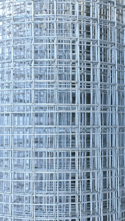 welded: Background of galvanized welded meshes