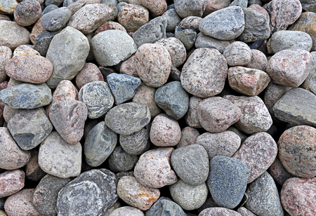 pebblestone: Big pile of stones as a background