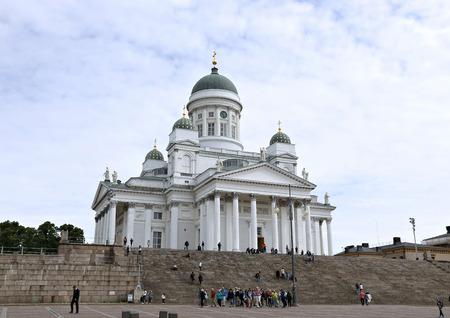 nikolay: HELSINKI, FINLAND - JULY 6, 2015: Cathedral of St. Nicholas (Cathedral Basilica)