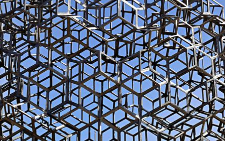 Welded: Background of metal welded construction