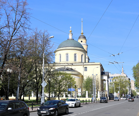 ascension: Church of the Ascension of the Lord in Storozh near Nikitsky gate in Moscow Editorial