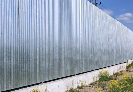 rustproof: A fence made of galvanized, stainless steel professional flooring