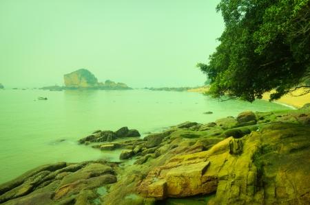 This picture was taken in xiamen gulangyu island,China  Stock Photo