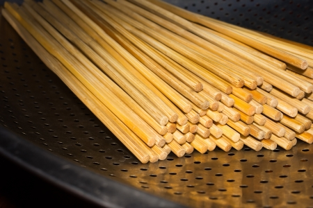 irradiation: Chopsticks Stock Photo