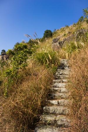 Stone Ladder of XiaMen TianZhu Mountain