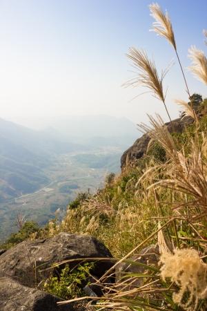 hillside: Chinese Hillside Stock Photo
