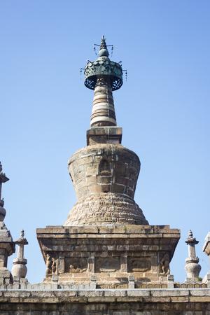 stupa in Yunnan, China. Stock Photo