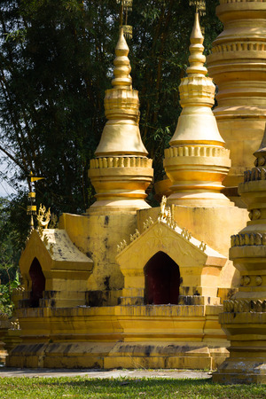 This is a photo of stupa was taken in Yunnan, China.