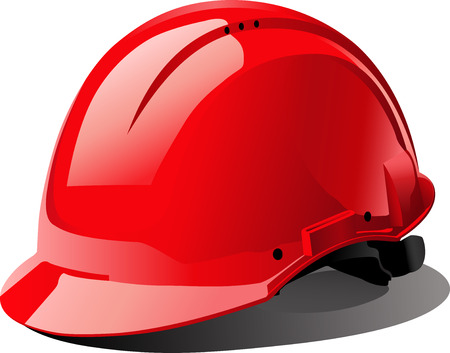 casco rojo: el casco rojo