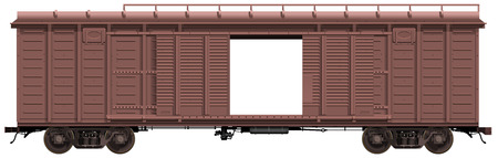 boxcar: the freight-car