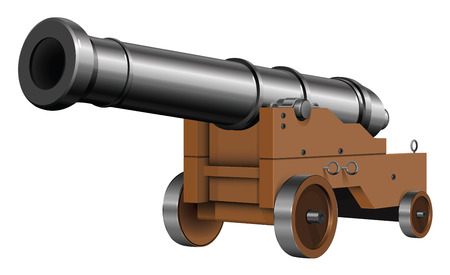 a cannon: the old cannon