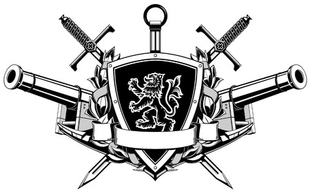 fekete-fehér: the black white coat of arms