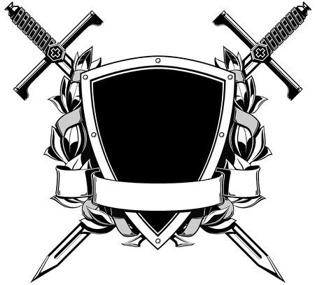 white coat: the black white coat of arms