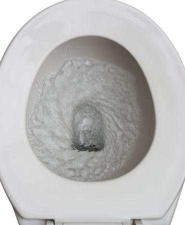 トイレ フラッシュされません。 写真素材