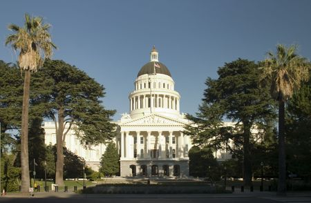 Sacramento City Hall on a sunny day
