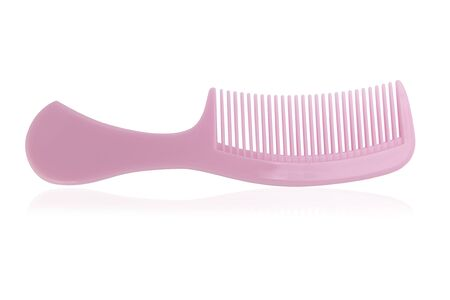 comb on a white background,with clipping path