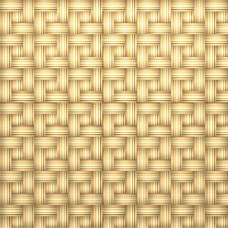 rattan: Woven rattan seamless background,vector illustration