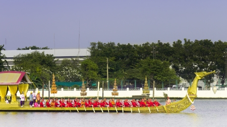Royal Thai barges