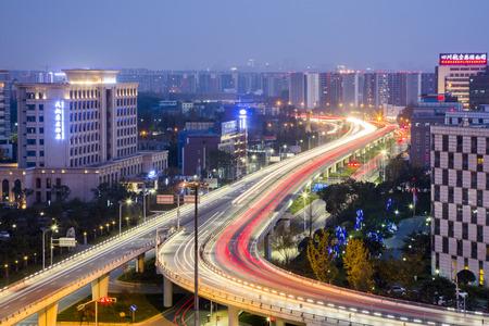 chengdu: Chengdu airport Expressway