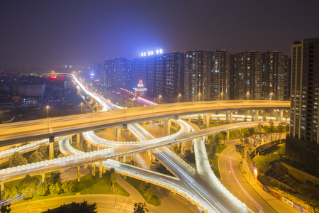 chengdu: Chengdu blades interchange Editorial