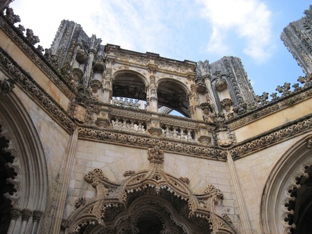 Not completed Gothic temple in Portugal.