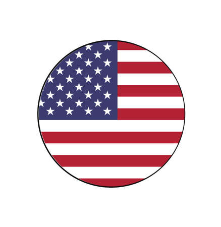United States of America Flag Official size and colored, stars and stripes, old glory, and the star spangled banner.