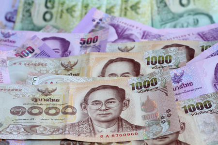 bank note: Thailand bank note Stock Photo