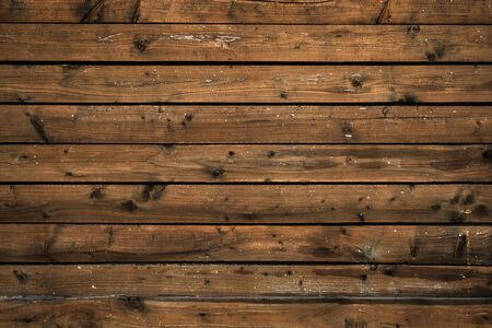 Shabby wooden surface of the old boards Banco de Imagens