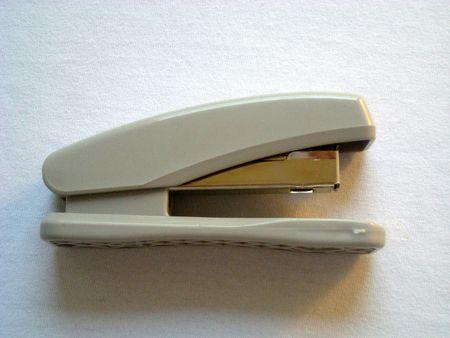 office stapler: Stapler Side view