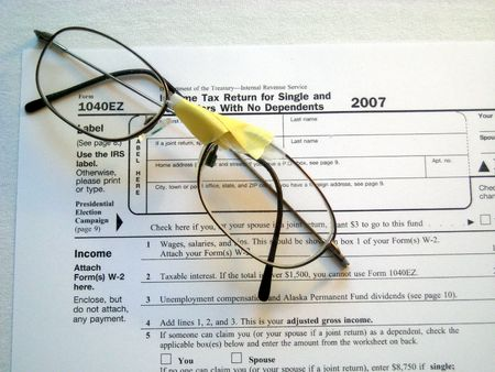 Taxes and Broken Glasses