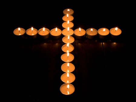 christmas scent: Candle Cross