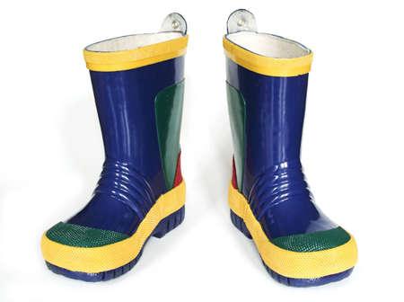 chear: Rain Boots Stock Photo
