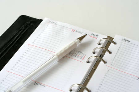 iii: Day Planner III Stock Photo