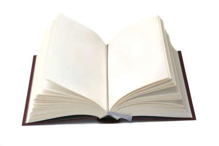 chronicle: Open book Stock Photo