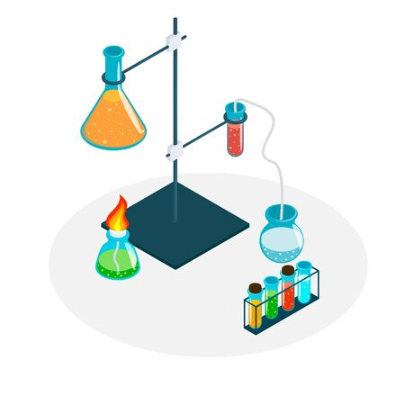 Medical Laboratory. Laboratory equipment for science experiments.