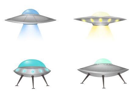 Ufo flying spaceship.