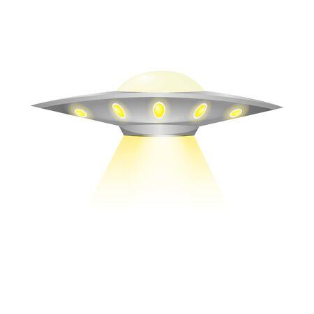 Ufo flying spaceship