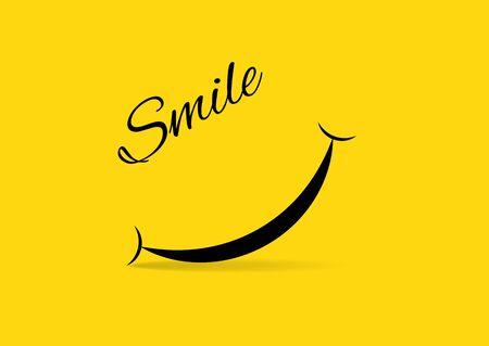 World smile day banner. Vector illustration Archivio Fotografico - 134452828