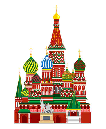 Red Square. Travel, journey concept. Famous monuments of world countries. tourist attraction