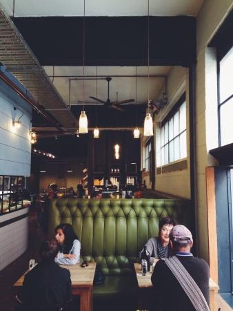 Melbourne cafe Banque d'images