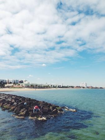 st kilda: St Kilda sea side