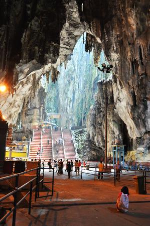Inside of Batu Cave, Malaysia Banque d'images
