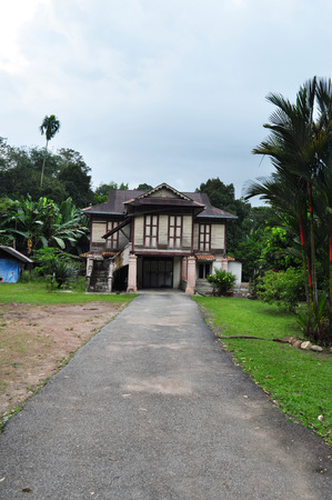 malay village: Malaysia village wooden house