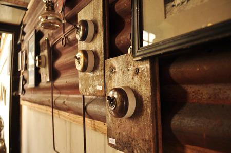 bakelite: Old Vintage bakelite light switch