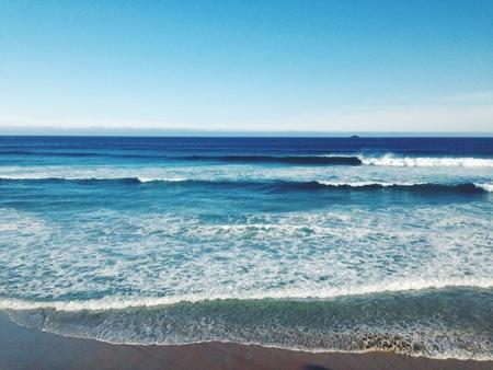 verano: De playa de verano Foto de archivo