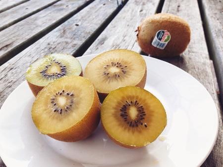 gold: New Zealand Kiwi Golden Fruit